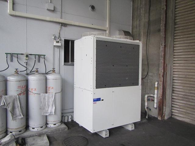 ガスヒートポンプGHP設置工事/動力電源工事/LPG配管工事 写真