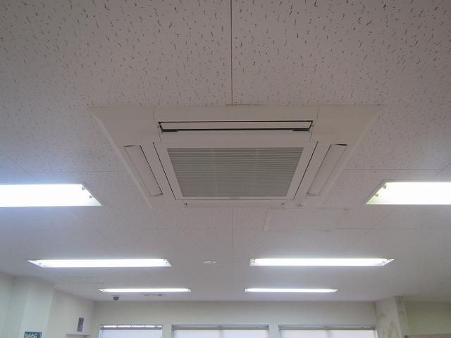 宮城県 利府町業務用パッケージエアコン入替工事 写真