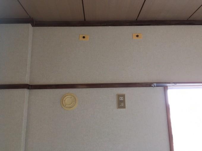 宮城県 エアコン取付け工事 施工前