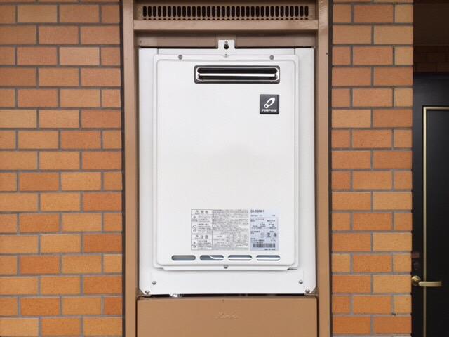 宮城県 ガス給湯器取付け工事 写真