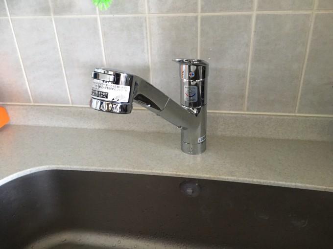 宮城県 キッチン水栓工事 施工後