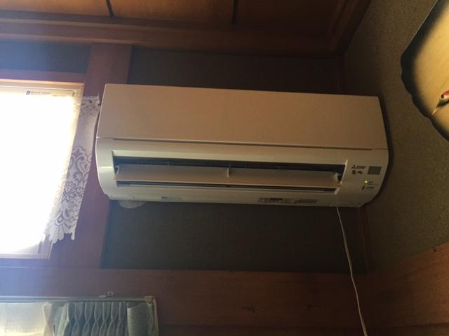 仙台市 エアコン取付工事 写真